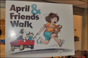 April & Friends Walk