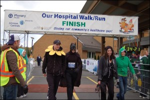 Bat man and Friends Finish