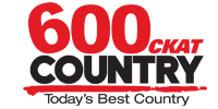 600 CKAT Country logo